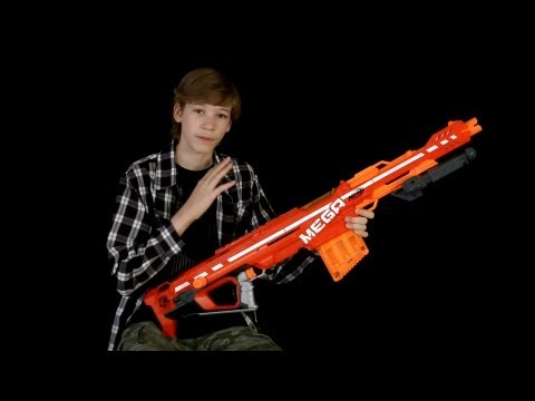 Nerf Elite Mega Centurion Review and Shooting
