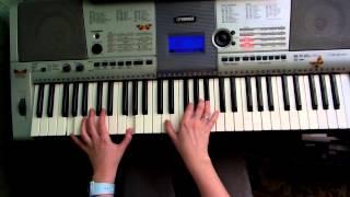 Johnyboy когда мы взлетаем видео урок piano