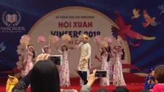 Khai mạc hội xuân Vinsers 2018 và phần thi Vũ điệu thế giới của khối tiểu học Vinschool Times City