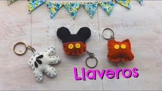 Llaveros de Mickey Mouse/ DIY/ regalo fácil
