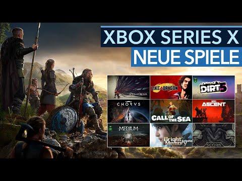 Diese Spiele kommen für die neue Xbox-Konsole Series X! Die neuen Ankündigungen & unser Fazit dazu