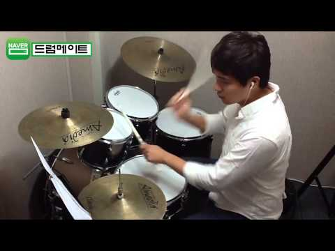 [level 6-4] wherever You Will Go-the Calling Drum Cover(미치도록쉬운드럼1-삼호etm) 2 video