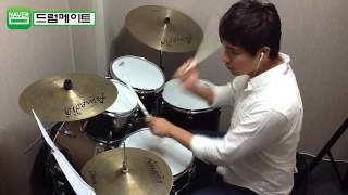 "[Lv.6-4] ""Wherever you will go-The Calling"" Drum Cover(미치도록쉬운드럼1-삼호ETM) 2"