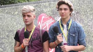 Union J discuss the Josh rumor and Beyonce