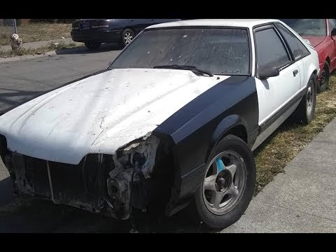 Watching video Foxbody fenders/ possibly buying a new car???