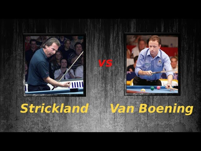 Shane Van Boening vs Earl Strickland Free Live Stream