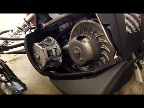 Polaris Indy 600 Clutch Kit Install