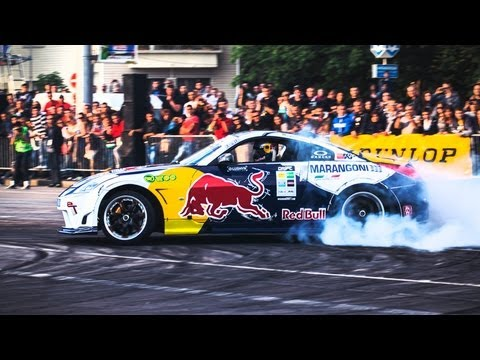 Drift Racing in Bulgaria - Red Bull Car Park Drift 2013