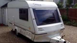 1998 ABI Sprinter 390-2 berth end kitchen caravan qualitycaravans.co.nz 0211281570