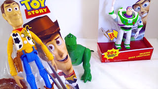 Toy Story Toys Woody and Buzz Lightyear 🤖 Opening Toy Story Toys