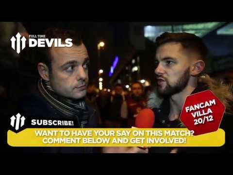 We Need Wingers | Aston Villa 1 Manchester Utd 1 | FANCAM