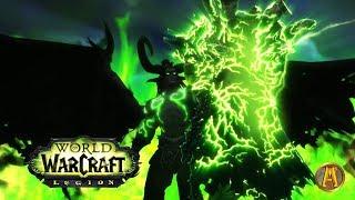 Illidan vs Gul'dan Cinematic [Nighthold Ending] - WoW Legion 7.1.5