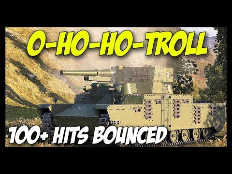 ► 100+ Bounces... Oh God! - World of Tanks O-Ho Gameplay