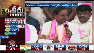 CM KCR Speech Highlights | KCR Press Meet After TRS Victory In TS Assembly Polls 2018