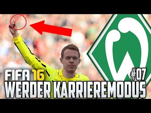 FIFA 16 KARRIEREMODUS #07 - LARS WAS SOLL DAS? - FIFA 16 Karriere Werder Bremen