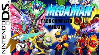 Pack Completo Megaman en Español para Android | Drastic NDS ROM