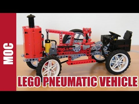 Lego Technic Pneumatic Vehicle by Nico71