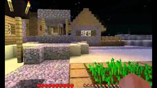 Minecraft 1.8 - Villages PNJ, Mines, Forteresses, Silverfish & Endermen : 2ème partie