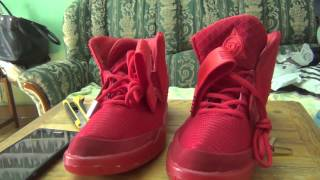 Unboxing de zapatillas nike air yeezy 2 con aliexpress 39