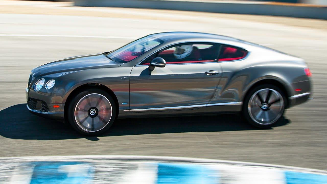Laguna Seca Raceway >> 2013 Bentley Continental GT Speed Hot Lap! - 2013 Best ...