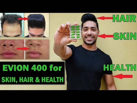 EVION 400 : Uses, Side-effects,Benefits for Skin, Hair, Bodybuilding (Hindi)