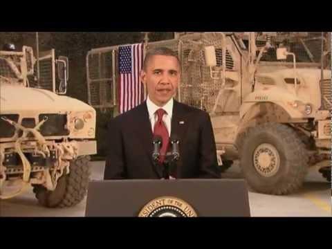 Obama to Troops: Afghan War Is Winding Down