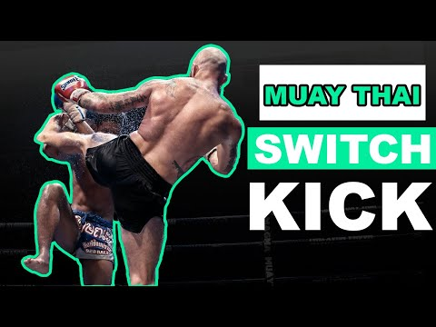 How To Throw A Switch Roundhouse Kick - Basic Muay Thai Techniques Image 1