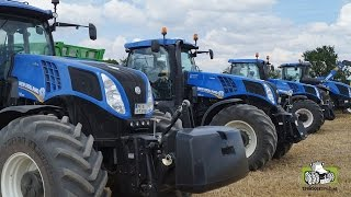 The best of New Holland 2016 Trekkerweb T6 T5 T7 T8