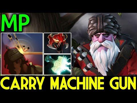 MP Dota 2 7.07 [Sniper] Machine Gun | Carry Team