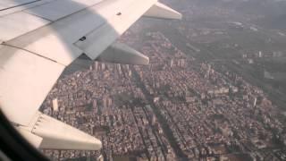EGYPT AIR Landing at Mumbai Airport in 19-10-2014