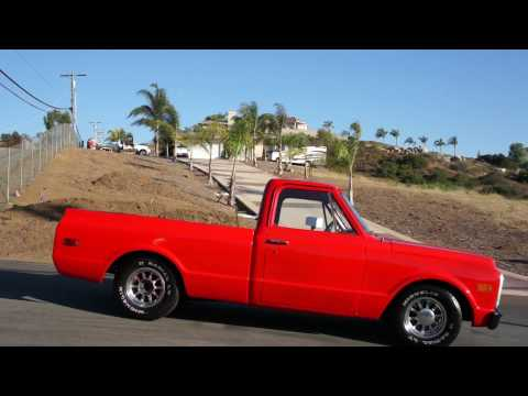 72 Chevrolet Shortbed 350 Muscle Truck C10 For Sale Restored