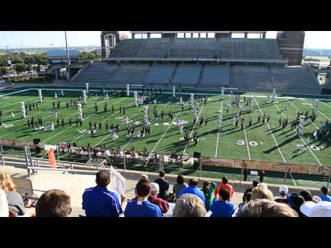 Seven Lakes High School Marching Band: Romanesque (Oct. 25, 2014)