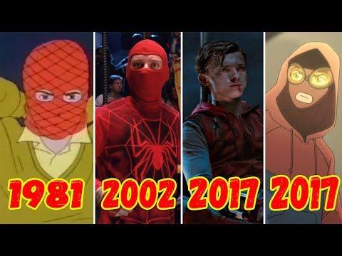 Эволюция Первого Костюма Человека-паука (1981-2017)