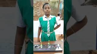 Science exhibition a project on electronic motor prepared by Laxmipriya pradhan