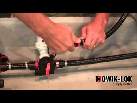 Plumbing A Flow Rite System With Qwik Lok Youtube