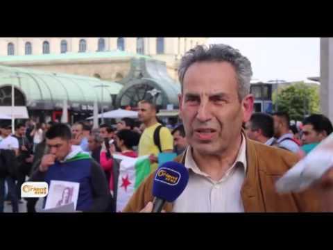 Li Hanover Kurd piştgiriya serhildana Mehabadê dikin