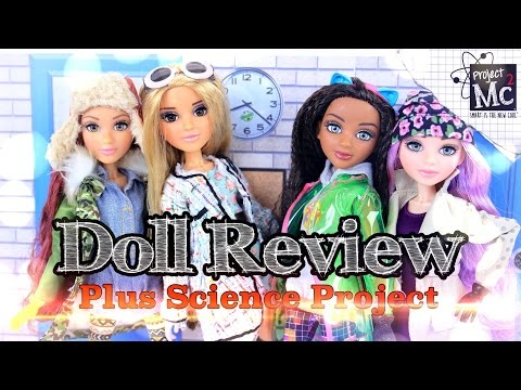 Doll Review: Project MC2 Dolls   Plus Science Experiments