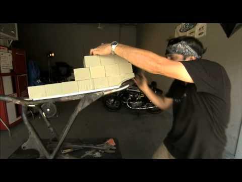 Building A Fiberglass Cafe Racer Seat