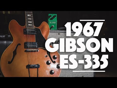1967 Gibson ES-335 played by Daniel Donato