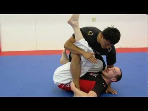 No Gi Grappling Video: Sweeps - De la Riva to Butterfly Waiters Sweep with Tim Gillette Image 1