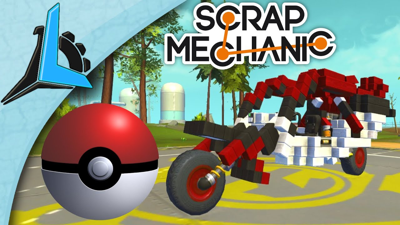 Scrap mechanic как сделать руль