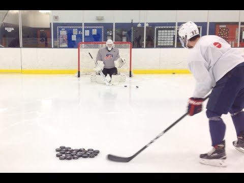 How to Properly Warm Up an Adult Goaltender