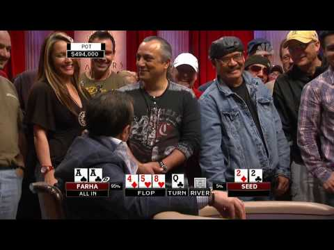 National Heads Up Poker Championship 2009 Episode 11 2/5 Video