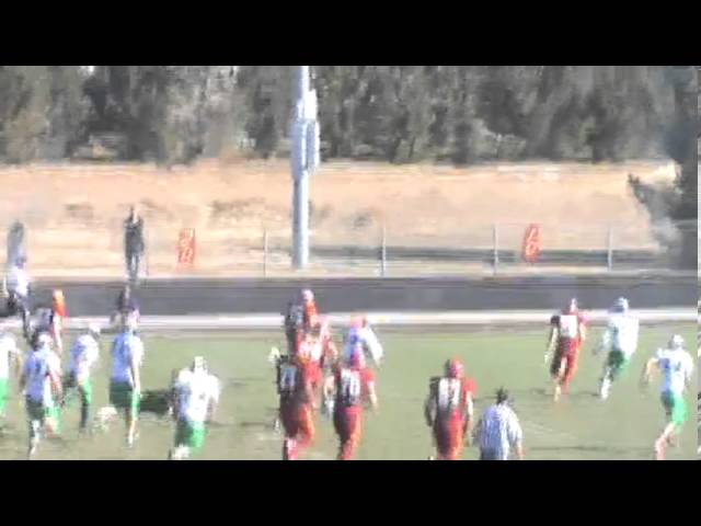 11-2-13 - 36 more yards for Mikey Gutierrez