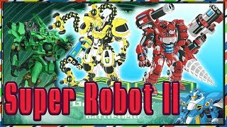 Super Robo Fighter 2 -  robot siêu nhân ghép hình