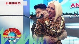 Ion gives Vice a super hug | It's Showtime BiyaHERO