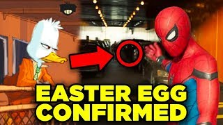 Spider-Man Easter Egg CONFIRMED! PART 2 Howard the Duck Homecoming Rewatch!