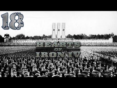Hearts Of Iron IV - Rzesza Niemiecka #18 - Angole W Opałach   (Gameplay PL)
