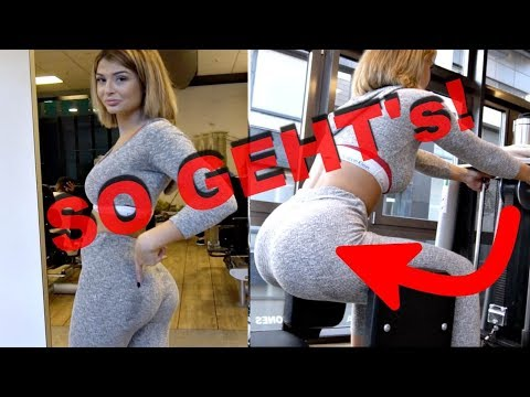 ''BIG BOOTY'' BEKOMMEN!🍑 - PO-TRAINING + POST-WORKOUT-MEAL 🍟 thumbnail
