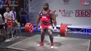 Ray Williams - 1083.5kg 1st Place 120+kg - IPF World Classic Powerlifting Championships 2018